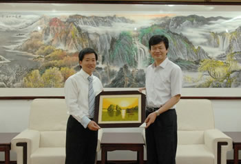 CNAS 秘书长肖建华会见越南标准